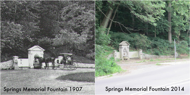 Springs memorial fountain b a