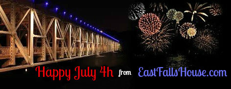 bridge with fireworks yes