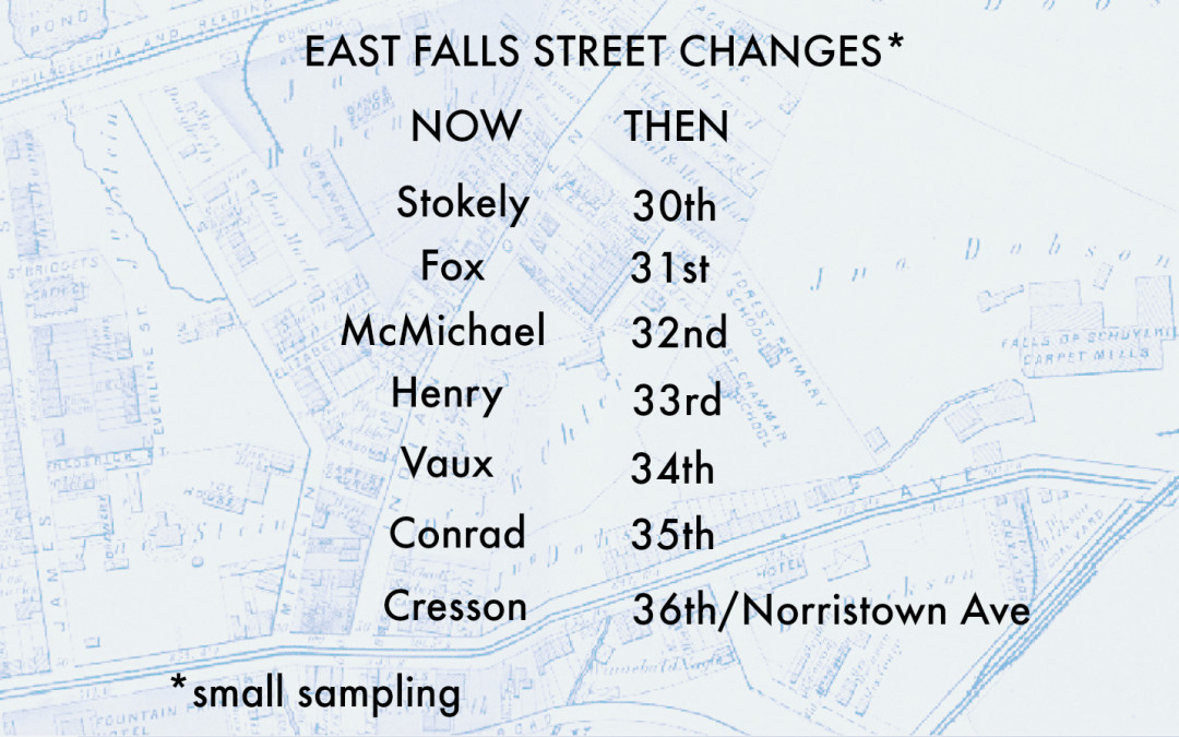 When were streets renamed? Fourth-generation Fallser writes in