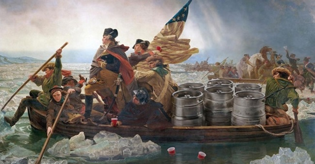 Party Like a Patroit:  GW's Favorite Fish House Punch