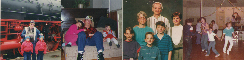 Random photo collage