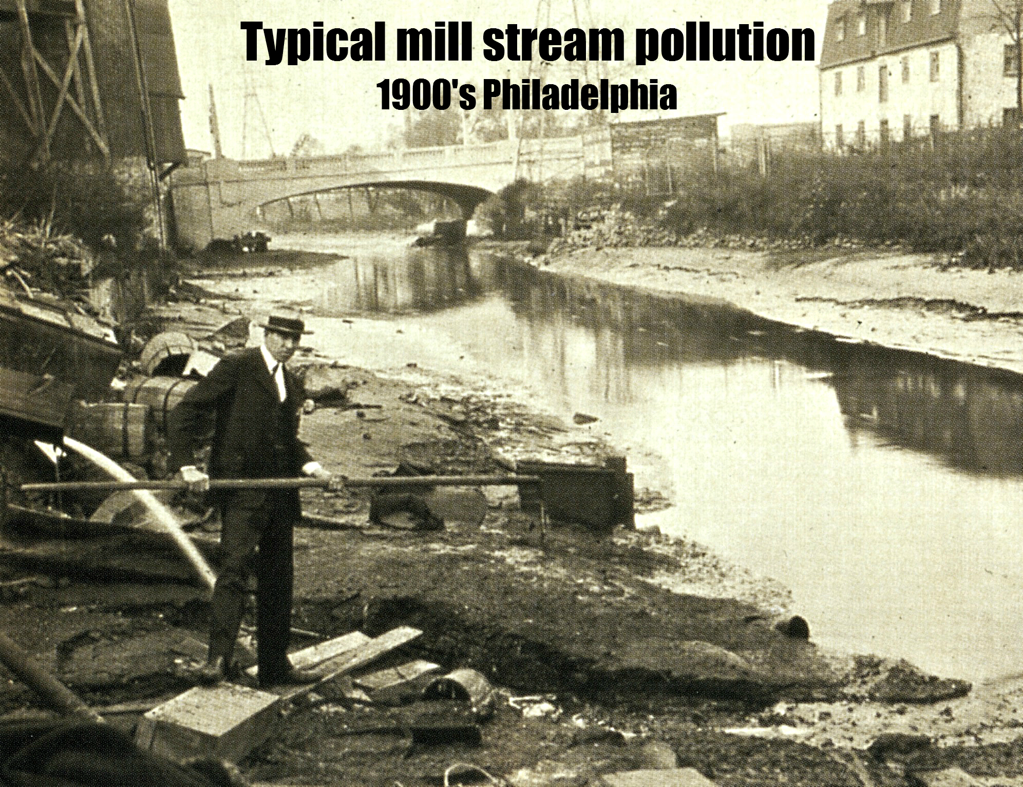polluted schuylkill man stick pm