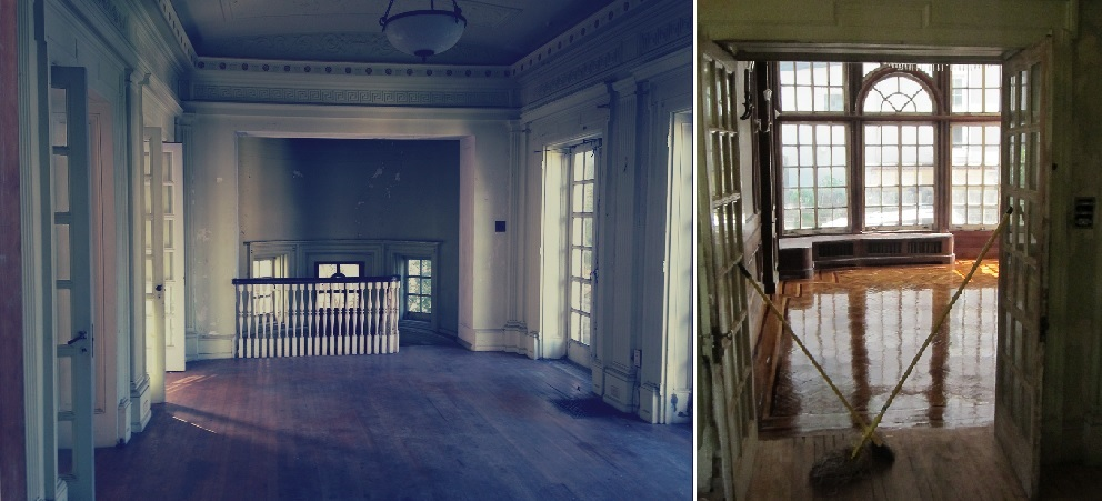 ballroom and dining room goth-y