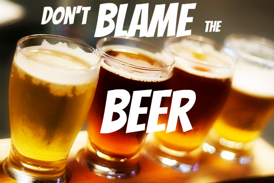 lager beers Dont blame