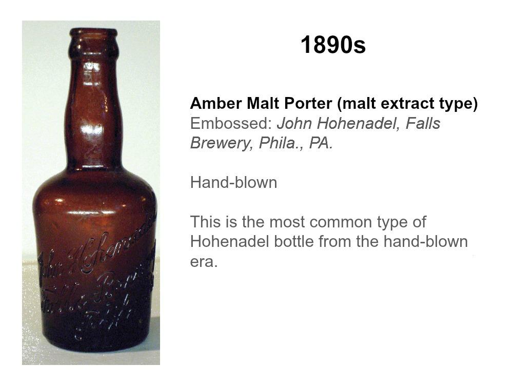 Hohenadel Amber Porter
