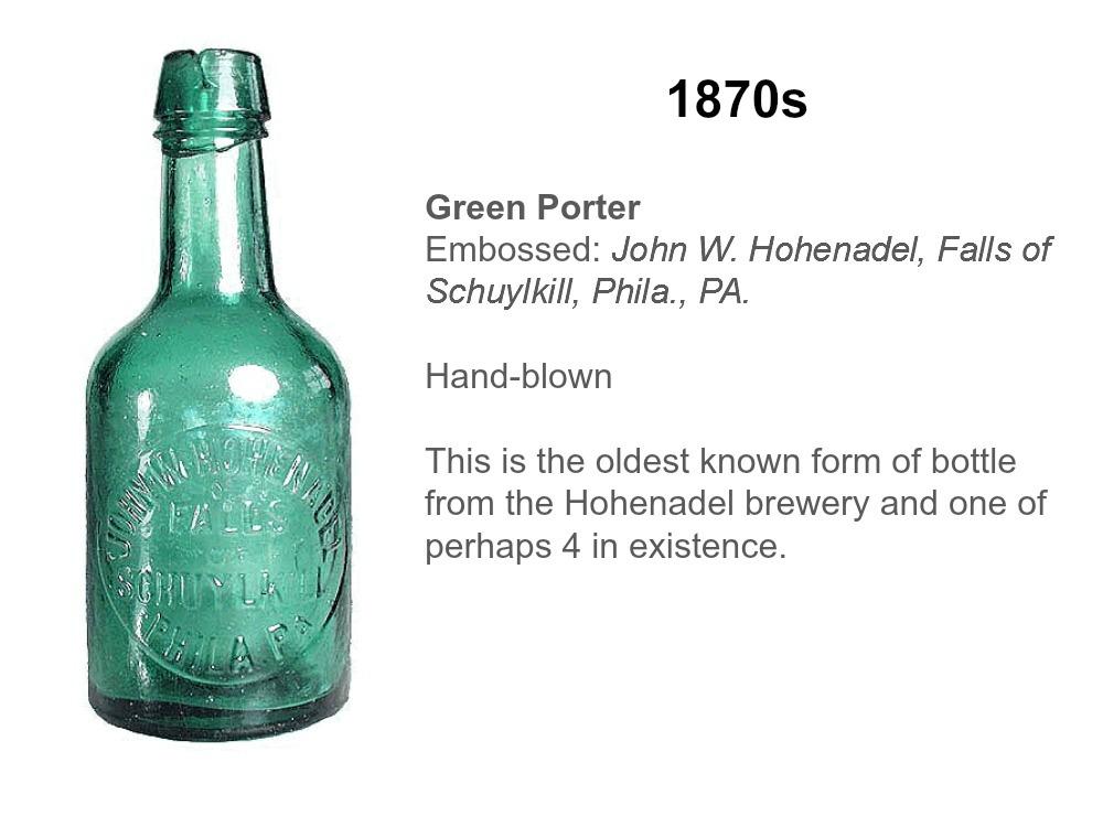 Hohenadel Green Porter.East Falls